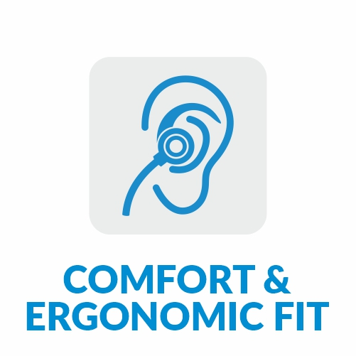 Comfort Ergonomics Dromos Q9 Wireless Bluetooth Earphones