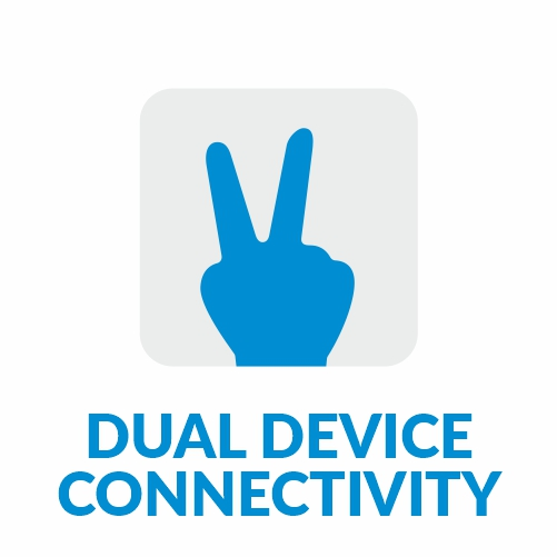 Dual Device Connectivity Dromos Q9 Wireless Bluetooth Earphones